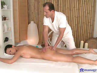 Soft massage for the naughty woman is in to turn definitely spicy