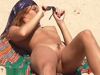 Chicks nude on the beach