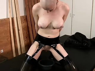 Latex and ultra charm bdsm banging