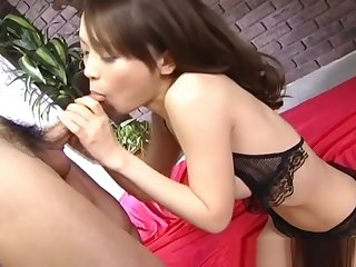 Pretty Asian Teen Yuri Kousaka Sucks Off Two