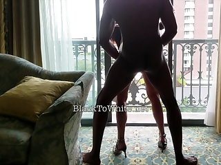 Amasterdam hooker sucks second-rate black cock in reality sex