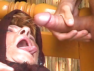 bbw 74 years age-old mom banged