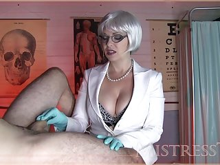 Insult Mistress T Gives A Meticulous Hand  - mistress tangent