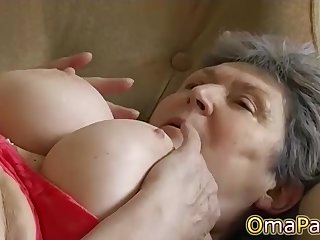 OmaPasS Amateur Hairy Granny Pussy Compilation