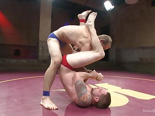 Anal wrestling and nude porn for the gay lovers