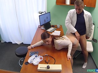 Slutty patient Alexis gave will not hear of pervy physician what he looked-for