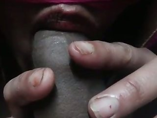 Quite steamy blowjob is provided by for everyone real amateur Desi housewife